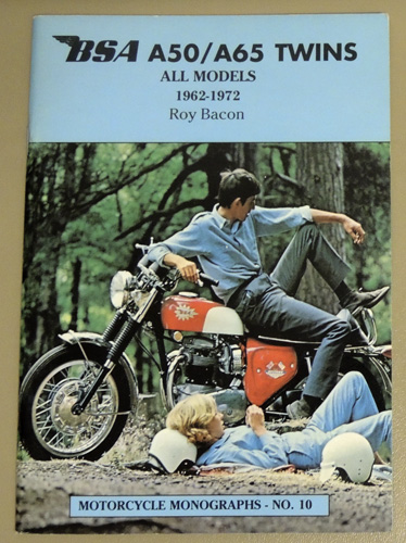 Image for Motorcycle Monographs No.10: BSA A50/A65 Twins, All Models, 1962 - 1972