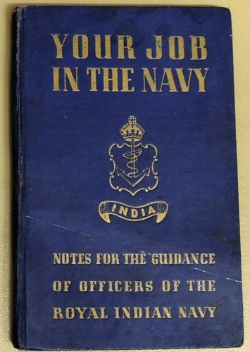Image for Your Job in the Navy: Notes for the Guidance of Officers in the Royal Indian Navy