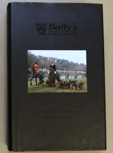Image for Baily's Hunting Directory 2006 - 2007