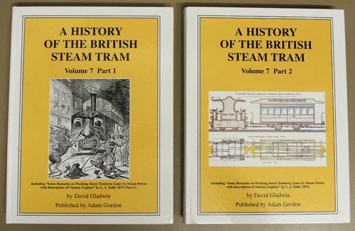 A History of the British Steam Tram Volume 7 Parts 1 and 2 (2 Volume Set).