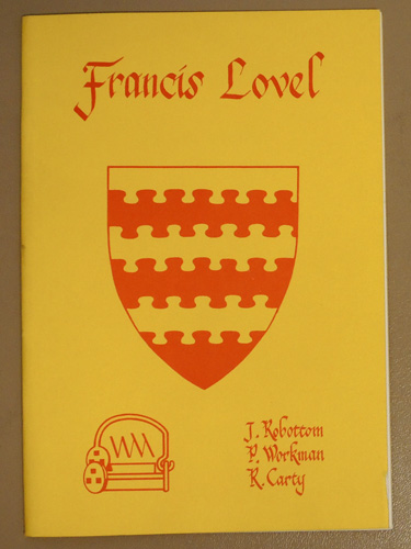 Image for The Life and Times of Francis Lovel