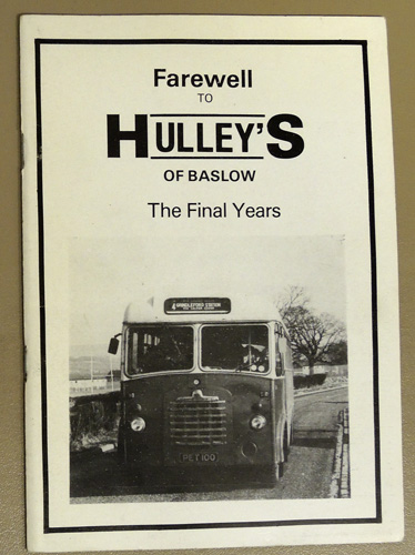 Image for Farewell to Hulley's of Baslow. The Final Years