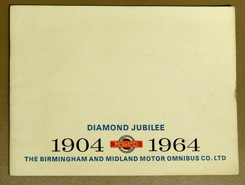 Image for Diamond Jubilee: Midland Red 1904 - 1964