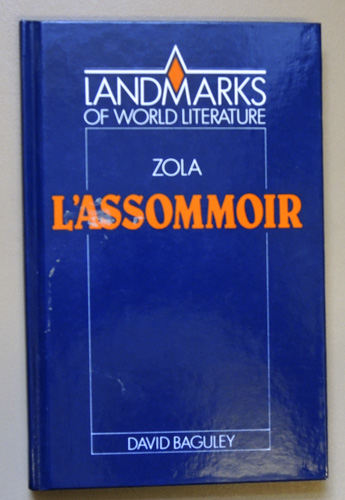 Image for Emile Zola: L'Assommoir (Landmarks of World Literature)