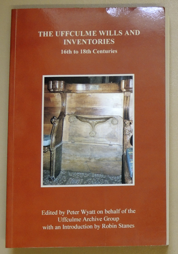 Image for Devon & Cornwall Record Society New Series, Volume 40: The Uffculme Wills and Inventories 16th to 18th Centuries