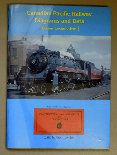 Image for Canadian Pacific Diagrams and Data: Steam Locomotives