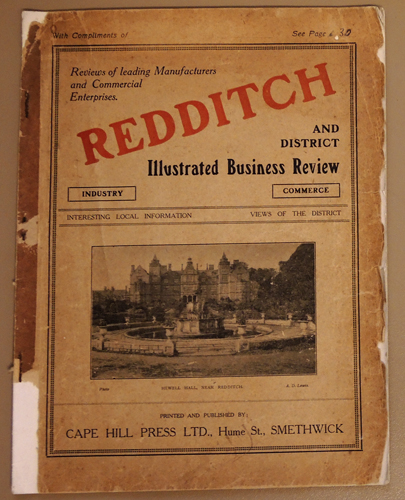 Image for Redditch and District Illustrated Business Review, Including Alcester, Studley, Astwood Bank, Alvechurch, Barnt Green and Henley-in-Arden