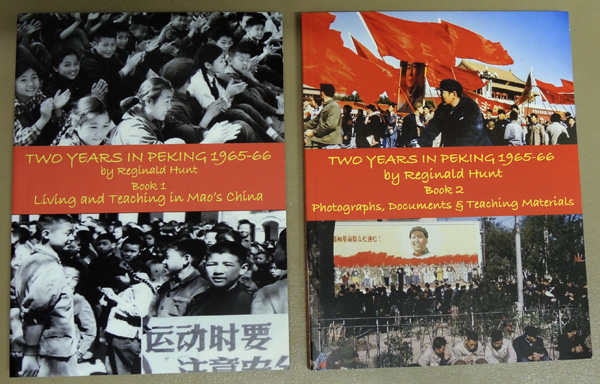 Image for Two Years in Peking 1965-66. Book 1. Living and Teaching in Mao's China. Book 2. Photographs, Documents and Teaching Materials (2 Volume Set)