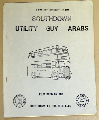 Image for A Vehicle History of the Southdown Utility Guy Arabs