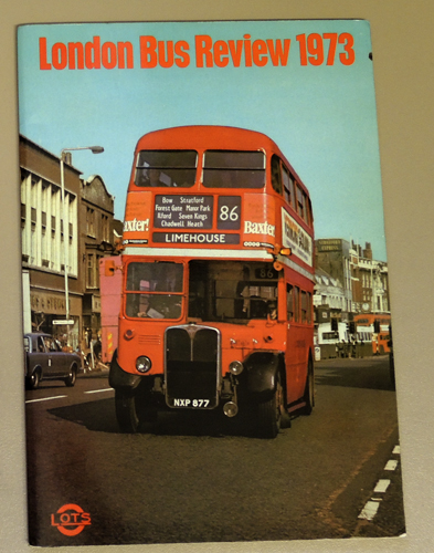 Image for London Bus Review 1973