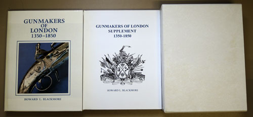 Image for Gunmakers (Gun Makers) of London 1350 - 1850 Plus Supplement (2 Volume Set)