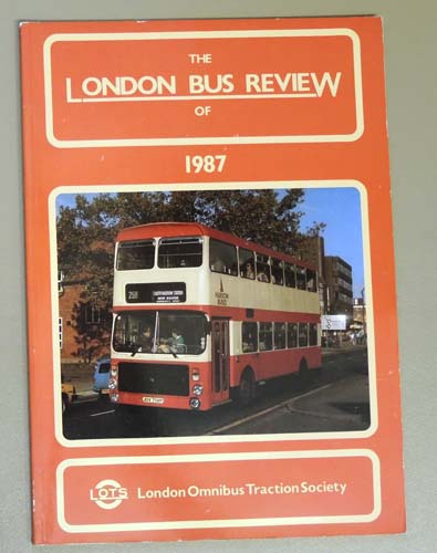 Image for The London Bus Review of 1987