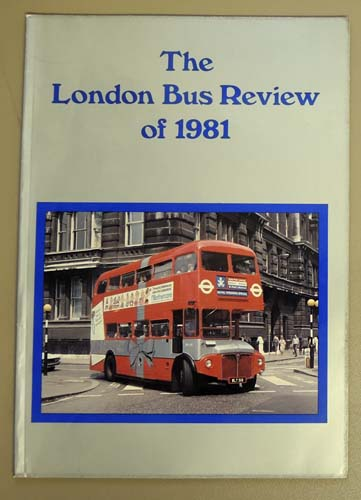 Image for The London Bus Review of 1981