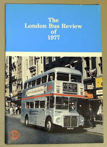 Image for The London Bus Review of 1977