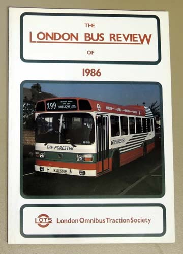 Image for The London Bus Review of 1986