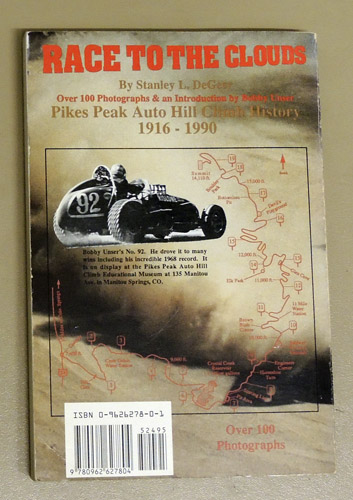 Image for Pikes Peak Is Unser Mountain: A History of the Pikes Peak Auto Hill Climb, 1916 - 1990