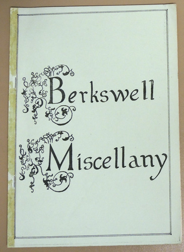 Image for Berkswell Miscellany