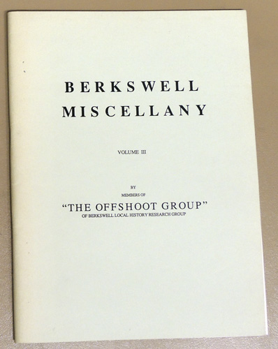 Image for Berkswell Miscellany Volume 3