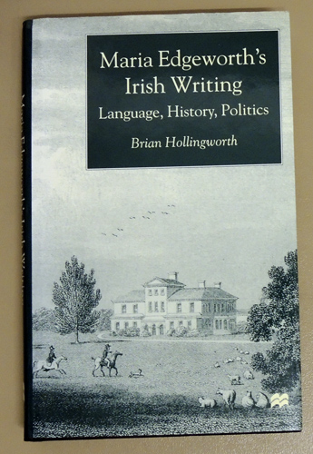 Image for Maria Edgeworth's Irish Writing: Language, History, Politics