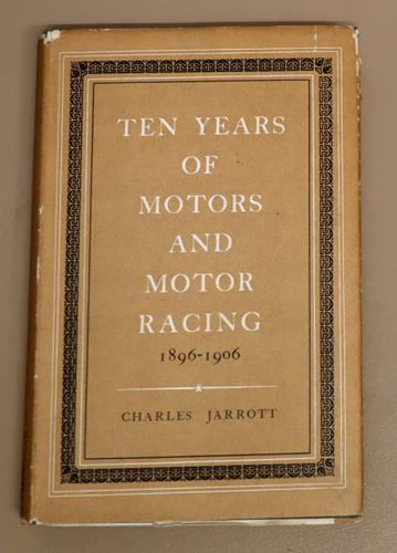 Image for Ten Years of Motors and Motor Racing
