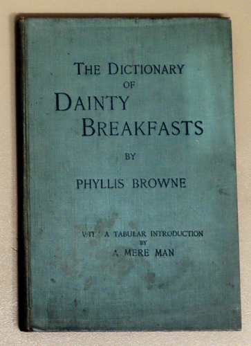 Image for The Dictionary of Dainty Breakfasts