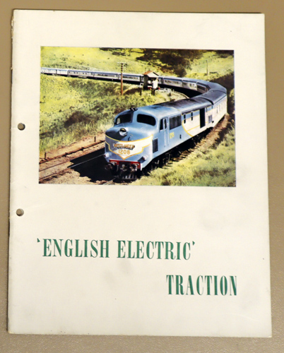 Image for English Electric Traction