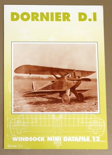 Image for Windsock Mini Datafile 12: Dornier D.I