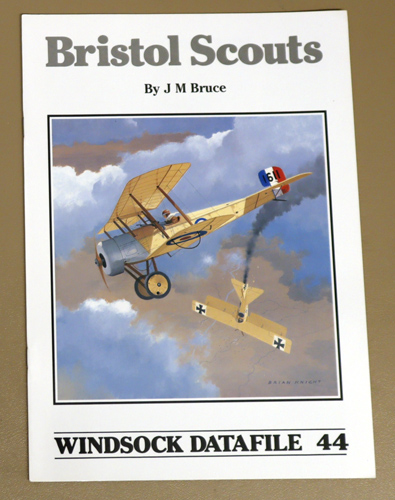 Image for Windsock Datafile 44: Bristol Scouts