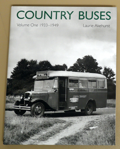 Image for Country Buses Volume One: 1933 - 1949