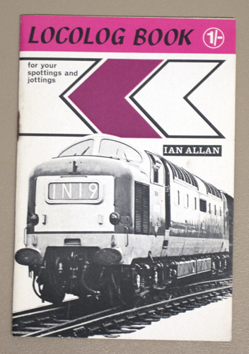 Image for Ian Allan Abc: Loco Log Book for Your Spottings and Jottings