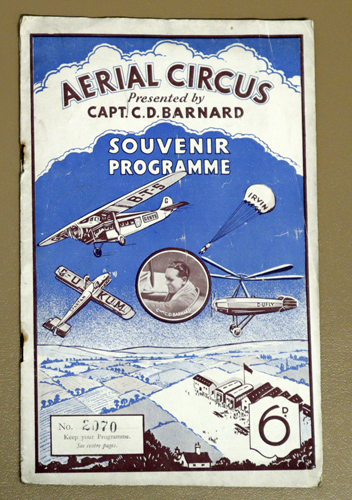 Image for Serial Circus Presented By Capt. CD Barnard. Souvenir Programme