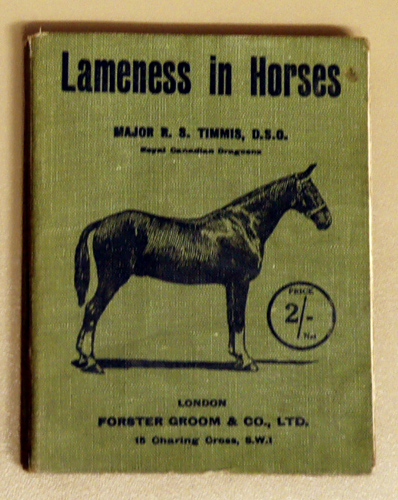Image for Lameness in Horses and the Treatment of Injuries