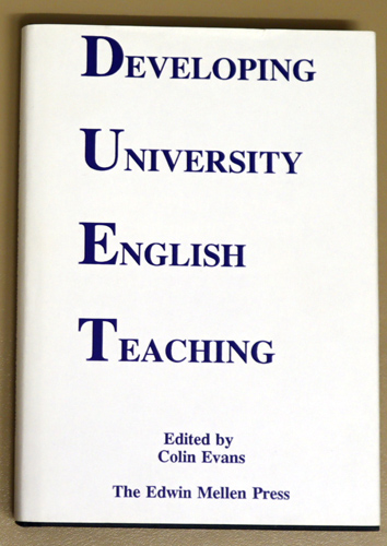 Image for Developing University English Teaching. An Interdisciplinary Approach to Humanities Teaching at University Level