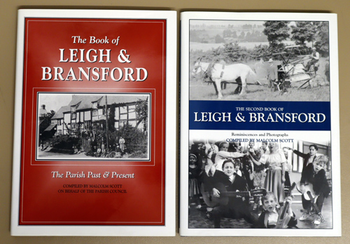 Image for The Book of Leigh and Bransford: The Parish Past & Present AND The Second Book of Leigh and Bransford: Reminiscences and Photographs