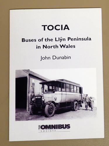 Image for TOCIA: Buses of the Llyn Peninsula in North Wales
