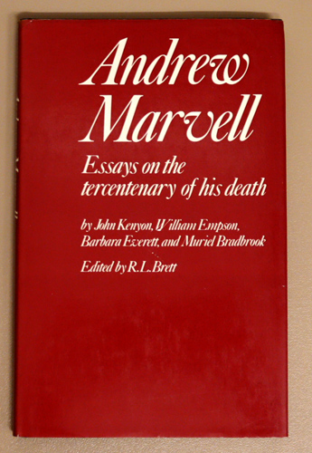 Image for Andrew Marvell: Essays on the Tercentenary of His Death