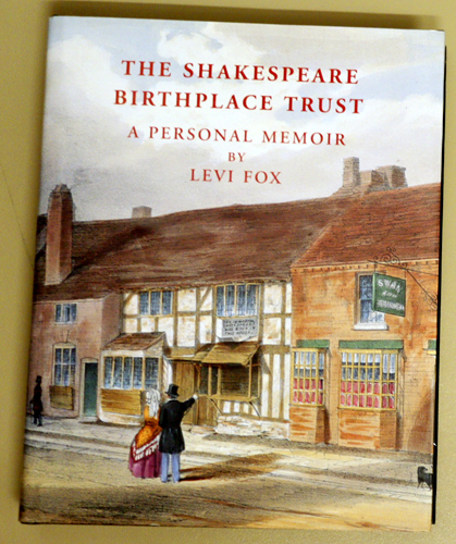 Image for The Shakespeare Birthplace Trust: A Personal Memoir
