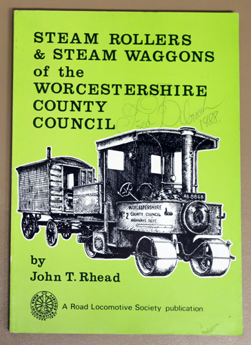 Image for Steam Rollers and Steam Waggons of the Worcestershire County Council