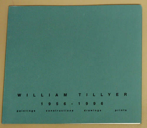 Image for William Tillyer, 1956 - 1996: Paintings, Constructions, Drawings, Prints