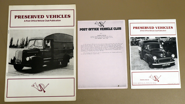 Image for Preserved Vehicles Formerly Operated By the General Post Office, the Post Office Corporation or British Telecom. 1986 first Edition and 1989 New Edition.