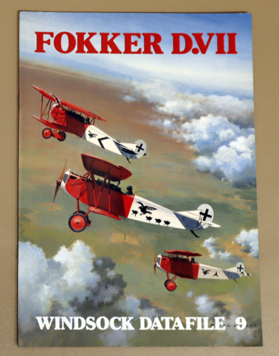 Image for Windsock Datafile No. 9: Fokker D.VII