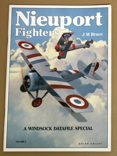 Image for Nieuport Fighters Volume 2: A Windsock Datafile Special