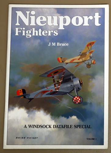 Image for Nieuport Fighters Volume 1: A Windsock Datafile Special