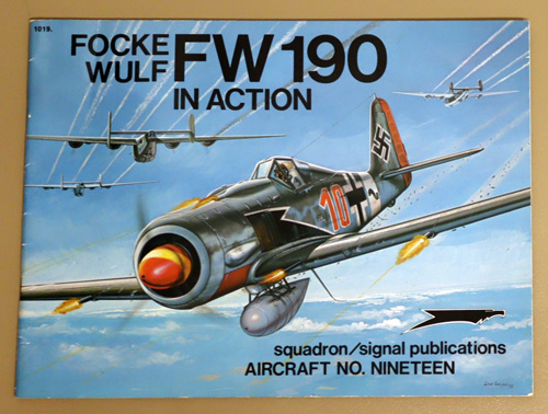 Image for Focke Wulf FW 190 in Action. Aircraft No. 19