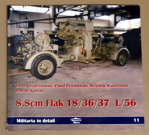 Image for Militaria In detail No. 9: 8.8cm Flak 18/36/37 L/56
