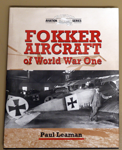 Image for Fokker Aircraft of World War One (Crowood Aviation)