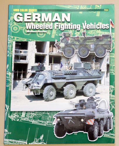 Image for German Wheeled Fighting Vehicles (Mini Color Series 7504)