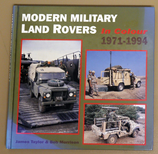 Image for Modern Military Land Rovers: In Colour, 1971 - 1994