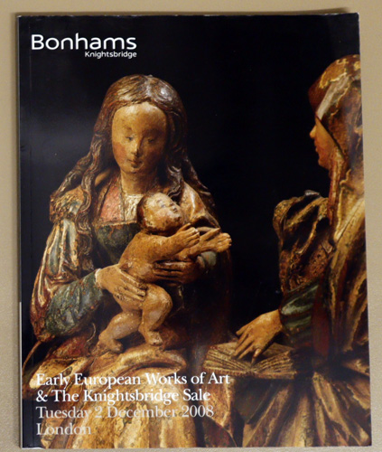 Image for Early European Works of Art and the Knightsbridge Sale. Auction: Tuesday 2 December 2008