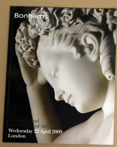 Image for Sculpture and Early Works of Art. Auction: Wednesday 22 April 2009